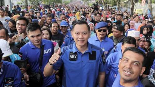 Menyapa Warga Pekanbaru, AHY: Salam Kangen dari SBY