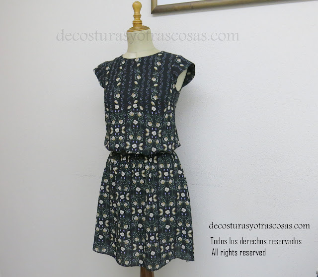 como hacer un vestido con cintura baja