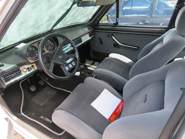 Volkswagen Passat GTS Pointer 1985 - interior