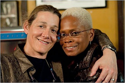 Martine Rothblatt and Bina Aspen