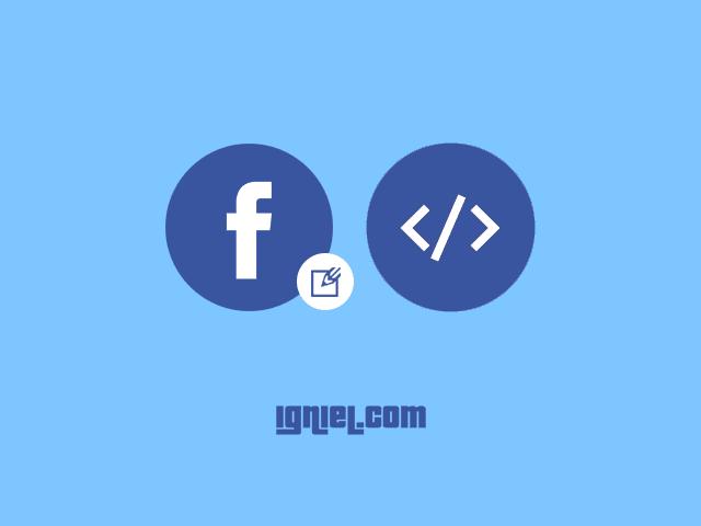 Cara Embed dan Memasang Status Facebook ke Dalam Postingan Blog