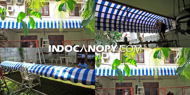 Canopy Kain Awning Sunbrella Murah Tangerang