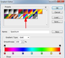 Mewarnai Teks Dengan Gradient pada Photoshop CS3 | Ermawati