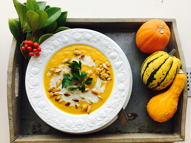 PUMPKIN WEEK - DAY 7 - PUMPKIN SOUP