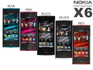 Harga Nokia X6 16gb