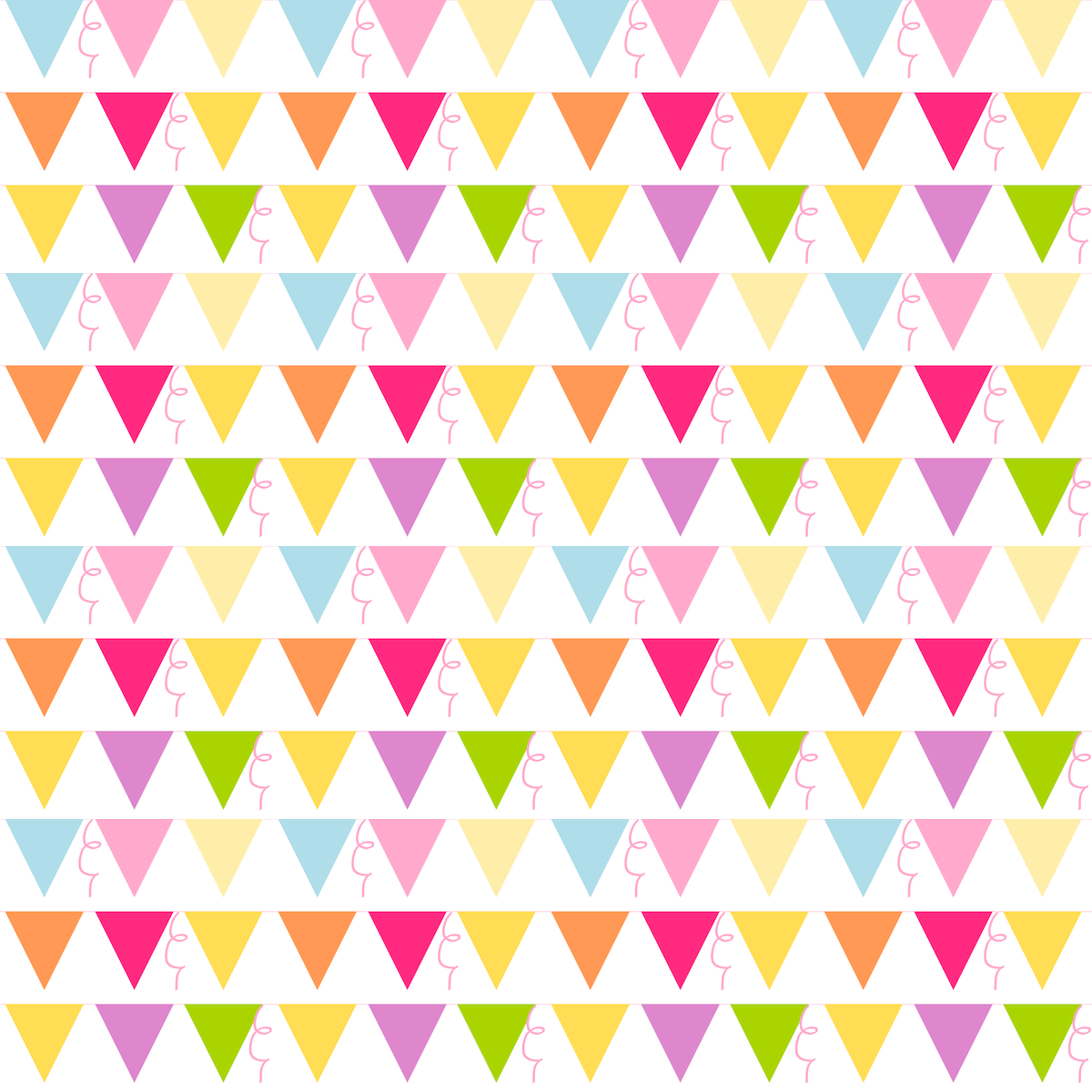 Cute Scrapbook Paper Patterns bunting scrapbooking paper