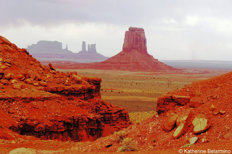 Artist Point Overlook Monument Valley Utah