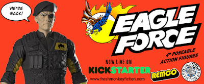 The Eagle Force Action Figure Toy Line Kickstarter Campaign by Fresh Monkey Fiction x REMCO