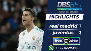 real madrid 1-3 juventus
