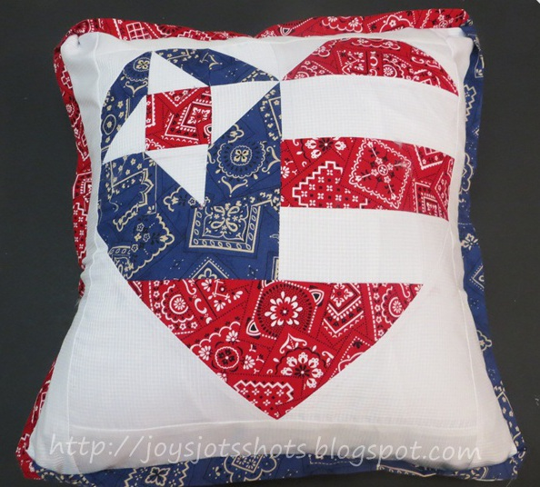 http://joysjotsshots.blogspot.com/2013/07/old-glory-star-pillow.html
