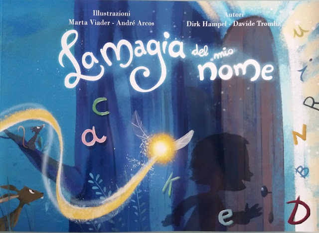 La magia del mio nome, libro personalizzato per bambini