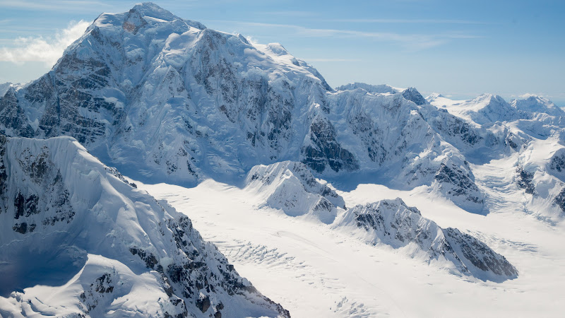 Mountain Peaks. Snowy Landscape from Alaska HD