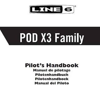 Line 6 POD X3 Live Manual