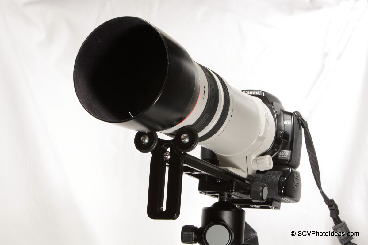 Basic Long Lens Support Bracket - front overview