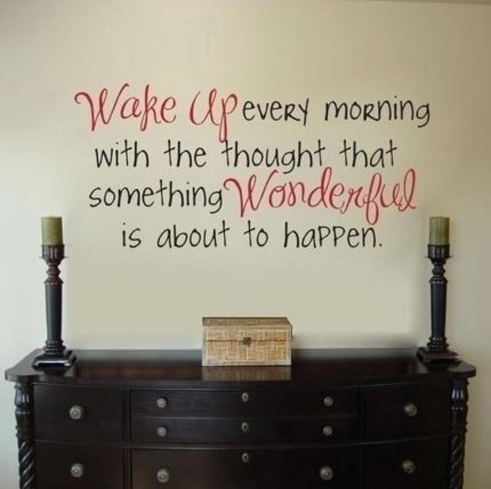 Inspirational Words Vinyl Wall Lettering Decals