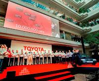 10 milyon Avrupalı Toyota