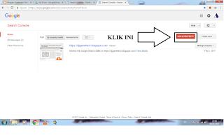 menambah blog baru dalam google webmaster tools