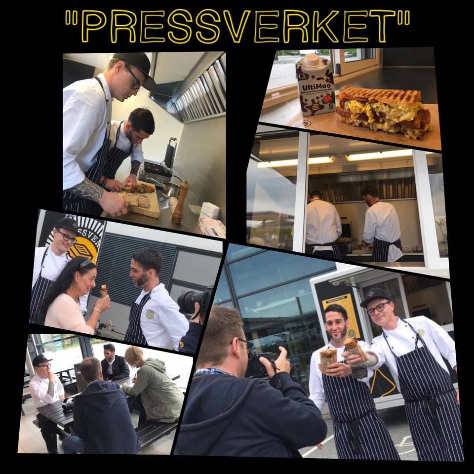 Åpning Pressverket GCS i Karmsundgata Senter