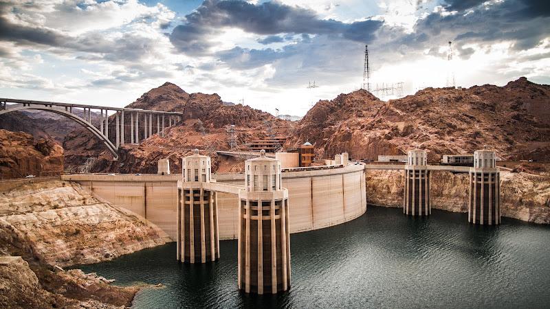 Hoover Dam on Colorado River HD