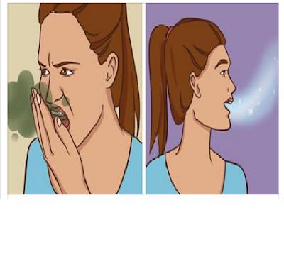 رائحة جسم وفم كريهة ؟ كيف تجعل رائحة جسمك وفمك رائعة وخالية من أي رائحة كريهة بدون مزيل عرق ؟