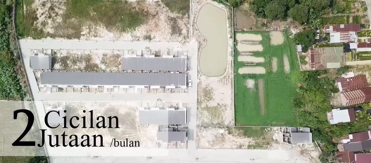 VIDEO Rumah Murah Dengan Diskon 30 JUTA Dan Subsidi DP Di Taman Palem Mas Tanjung Morawa Medan Sumatera Utara
