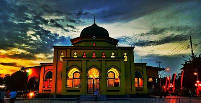 masjid yang terkenal di siak