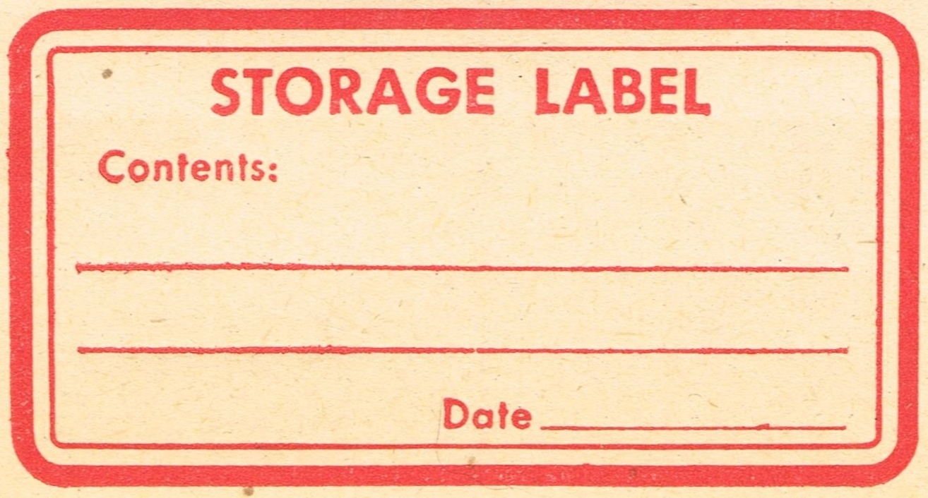 Labels: 8 Vintage Red Labels - Perfect For Christmas!