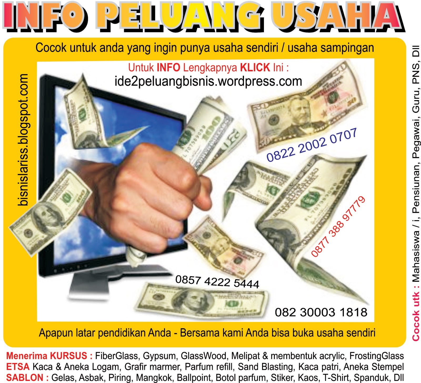 Http Www Bekalcarikerja Wordpress Com Website Ini: Percetakan, Digital Printing, Offset, Kursus.: Http://www