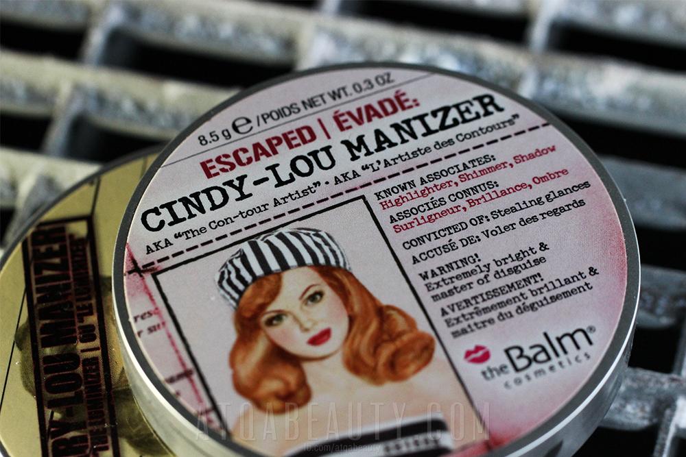 theBalm • Cindy-Lou Manizer