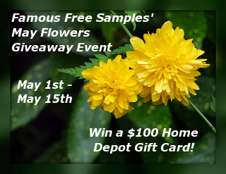 May Flowers Giveaway Event Button