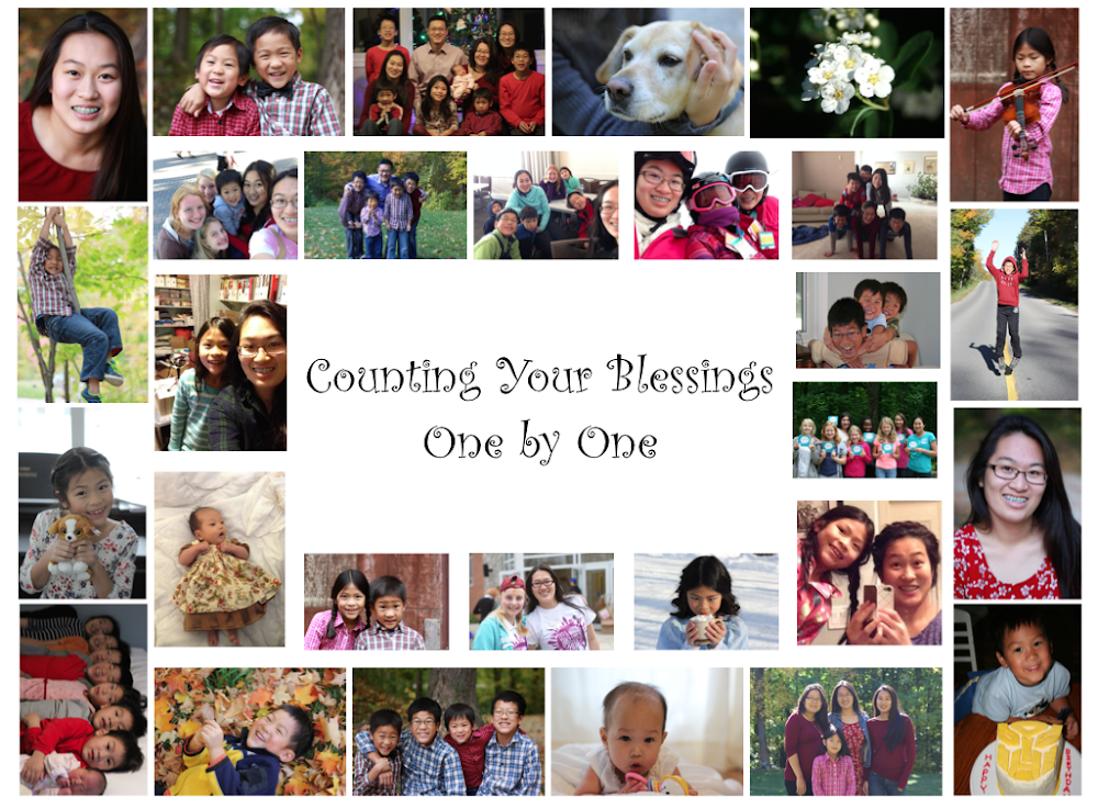 Counting Your Blessings One By One