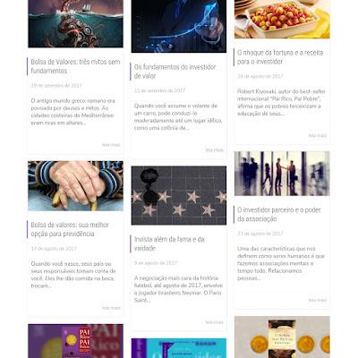 Clique na imagem para acessar os artigos publicados no site da Suno Research.