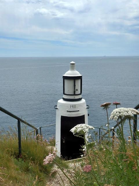 1911 Lighthouse at Polperro, Cornwall