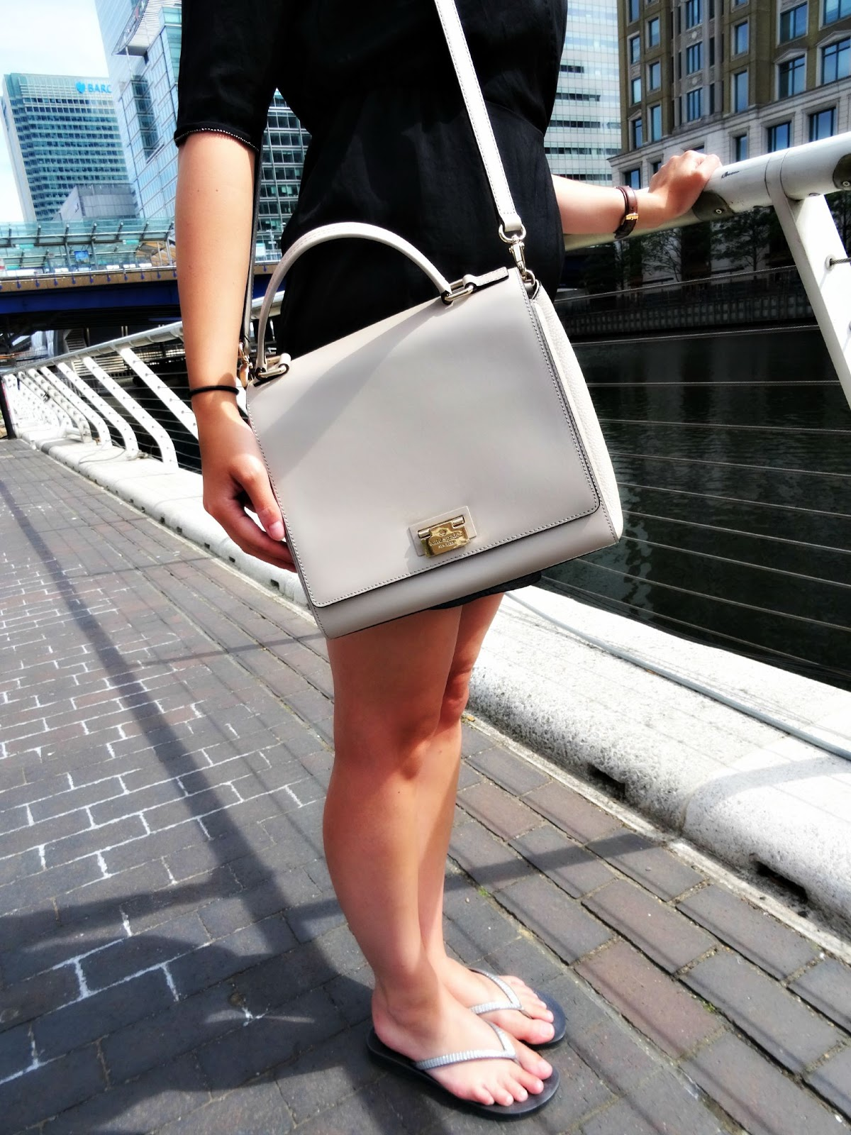Kate Spade cream coloured handbag