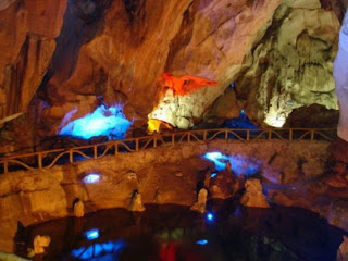 Nhi Thanh Cave in Lang Son - Vietnam