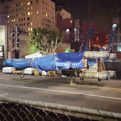 x-wing star wars ship found in hollywood