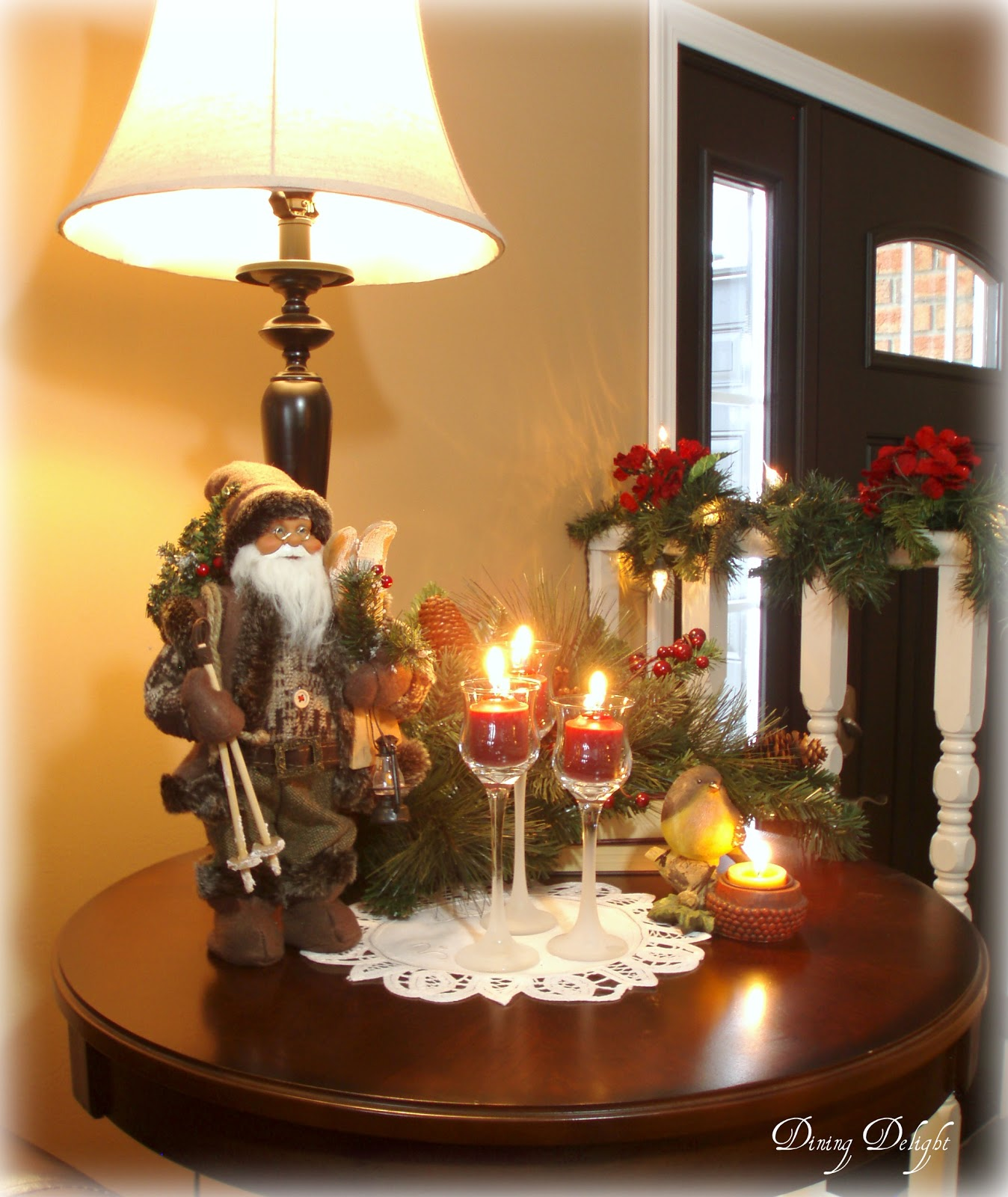 Home Table Decor: Dining Delight: Christmas Home Tour