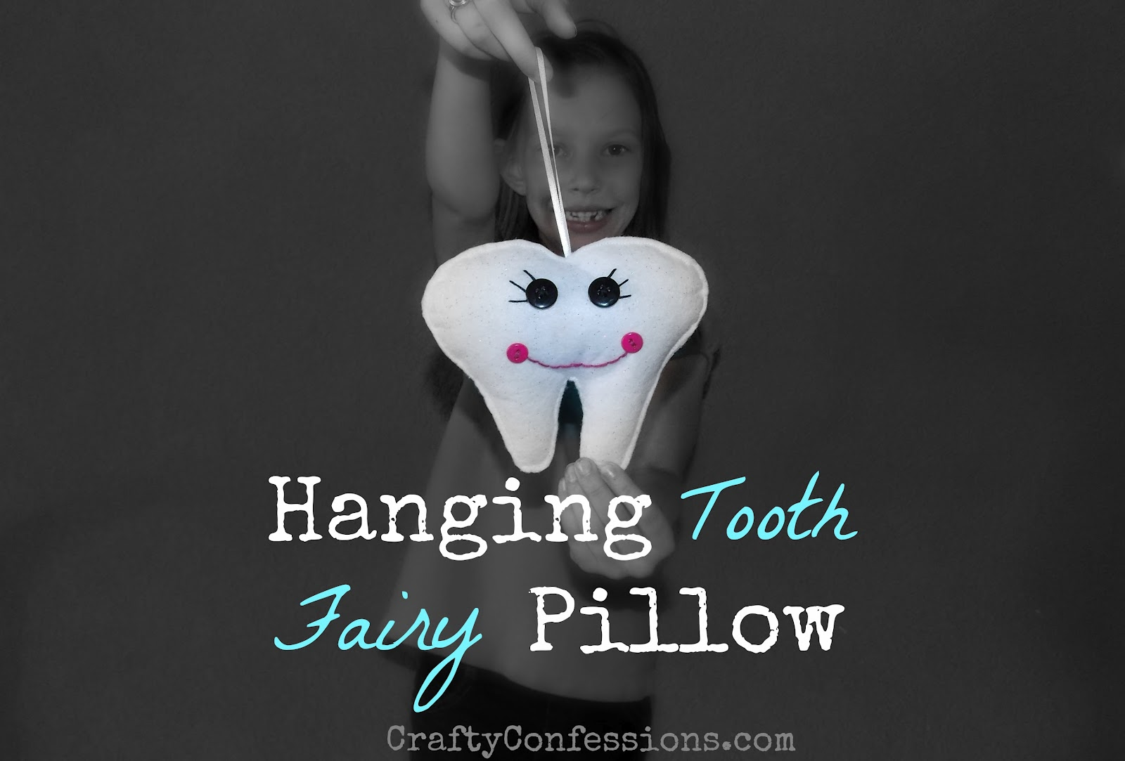 Crafty Confessions: Hanging Tooth Fairy Pillow Tutorial