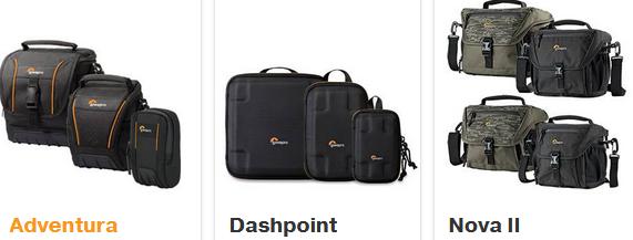 Tas Kamera DSLR Kategori Tas Kamera Kecil