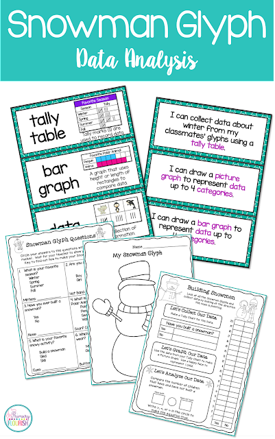 If you are looking for an engaging way to teach/review the CCSS graphing standards, this may be what you are looking for. My students love making glyphs, and because they love their little creations, they love to collect and analyze data - I'm sure yours will too!