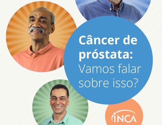 Cartilha Inca câncer de próstata