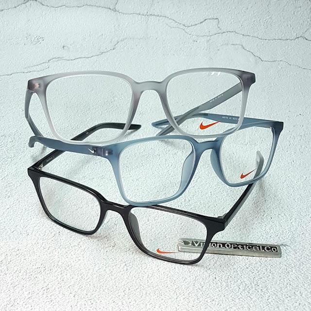 NIKE 71256 方形輕纖眼鏡