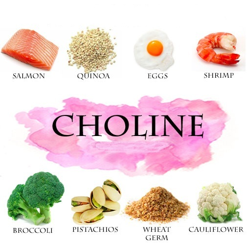 Natural Choline Foods
