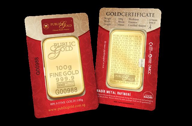 Gold Bar 100gram