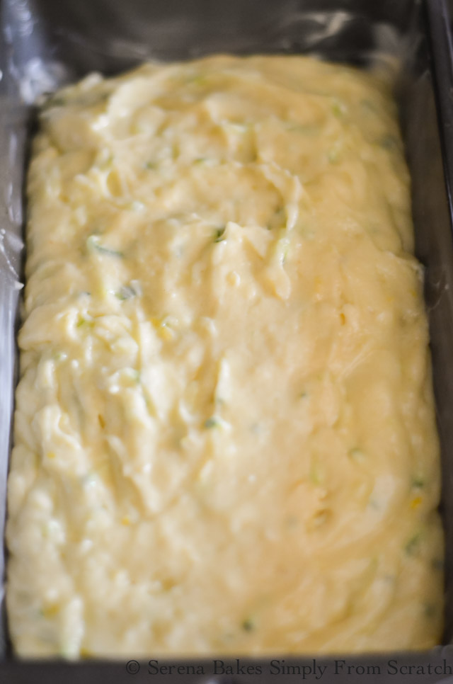 Lemon Zucchini Bread Recipe Batter
