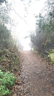 Pathway at Harrow on the hill.