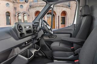 Mercedes-Benz Sprinter Panel Van (2019) Interior