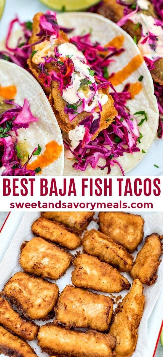 Mexican Baja Fish Tacos