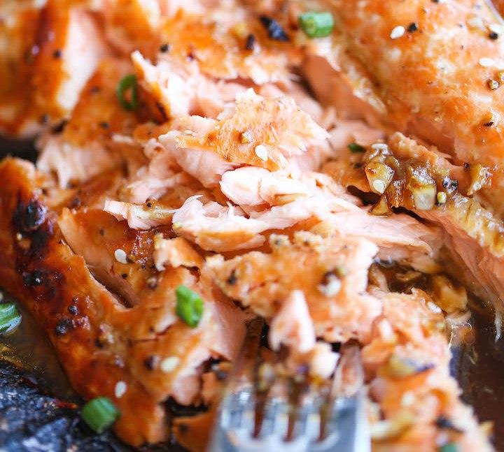 Honey Sesame Salmon