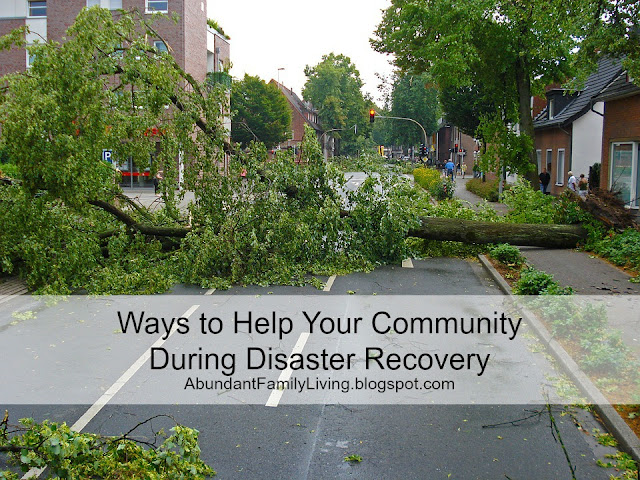 Ways to Help Your Community During Disaster Recovery